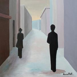 Un quadro di Laura Vitali